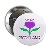 "...Scotland Thistle... 2.25"" Button"
