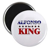 "ALFONSO for king 2.25"" Magnet (10 pack)"