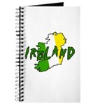 Irish Colors on Irish Map Journal