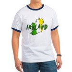 Irish Colors on Irish Map Ringer T