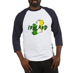 Irish Colors on Irish Map Baseball Jersey