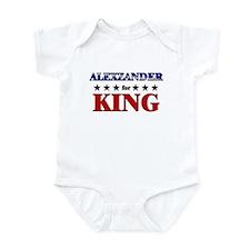 ALEXZANDER for king Infant Bodysuit