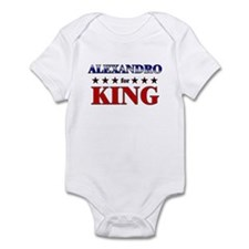 ALEXANDRO for king Infant Bodysuit