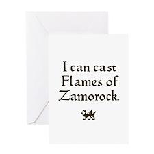 Flames of Zamorock Greeting Card