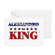 ALESSANDRO for king Greeting Cards (Pk of 20)