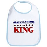ALESSANDRO for king Bib