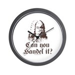 Can You Handel It Wall Clock