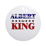 ALBERT for king Ornament (Round)