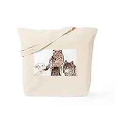 Wolf tarot tarot Tote Bag