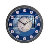 Volleyball Clock