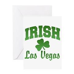Las Vegas Irish Greeting Card