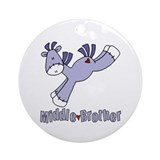 Sock Pony Middle Brother Ornament (Round)