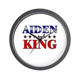 AIDEN for king Wall Clock