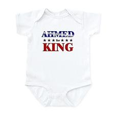 AHMED for king Infant Bodysuit