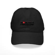Belongs To A Demolition Expert Baseball Hat