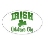 Oklahoma City Irish Oval Sticker
