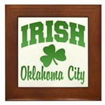 Oklahoma City Irish Framed Tile
