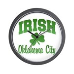 Oklahoma City Irish Wall Clock