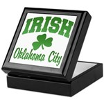 Oklahoma City Irish Keepsake Box