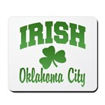Oklahoma City Irish Mousepad