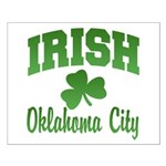 Oklahoma City Irish Small Poster