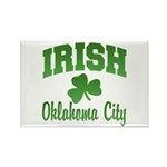 Oklahoma City Irish Rectangle Magnet (10 pack)