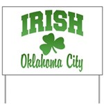 Oklahoma City Irish Yard Sign