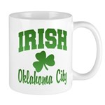 Oklahoma City Irish Mug