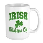 Oklahoma City Irish Large Mug