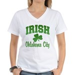 Oklahoma City Irish Women's V-Neck T-Shirt