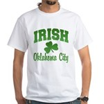 Oklahoma City Irish White T-Shirt
