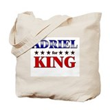 ADRIEL for king Tote Bag