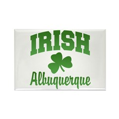 Albuquerque Irish Rectangle Magnet