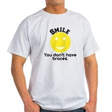 Smile braces T-Shirt