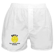 Smile braces Boxer Shorts