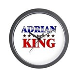 ADRIAN for king Wall Clock