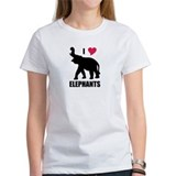 I Love Elephants Tee