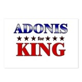 ADONIS for king Postcards (Package of 8)