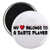 Belongs To A Darts Player Magnet