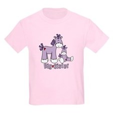 Sock Pony Duo Big Sister T-Shirt
