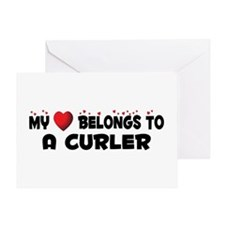 Belongs To A Curler Greeting Card