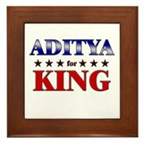 ADITYA for king Framed Tile