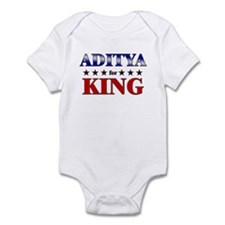 ADITYA for king Infant Bodysuit