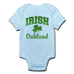 Oakland Irish Infant Bodysuit