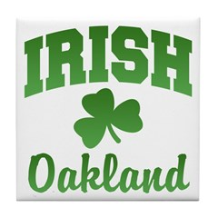 Oakland Irish Tile Coaster