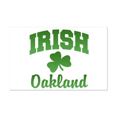 Oakland Irish Mini Poster Print