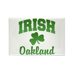 Oakland Irish Rectangle Magnet