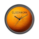 "Clockwork ""Orange"" Wall Clock"