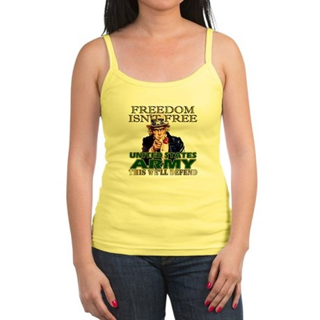 U.S. Army Freedom Isn't Free Jr. Spaghetti Tank
