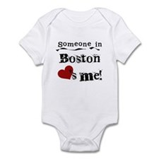 Boston Loves Me Infant Bodysuit